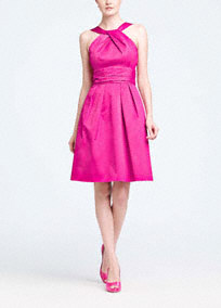 Y Neck Bridesmaid Dresses 47