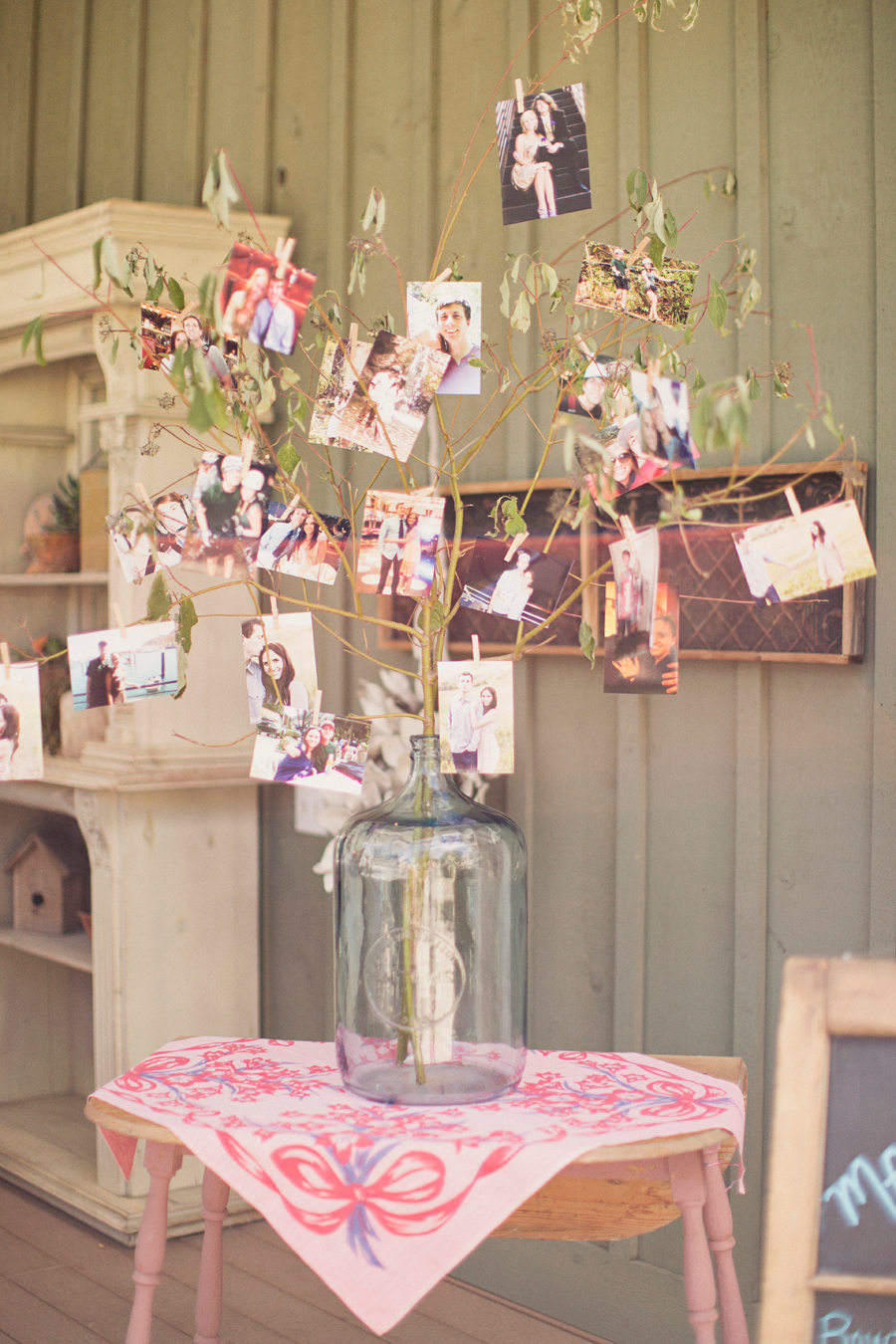 A rustic vintage bridal shower ultimate bridesmaid for How to decorate for a bridal shower at home
