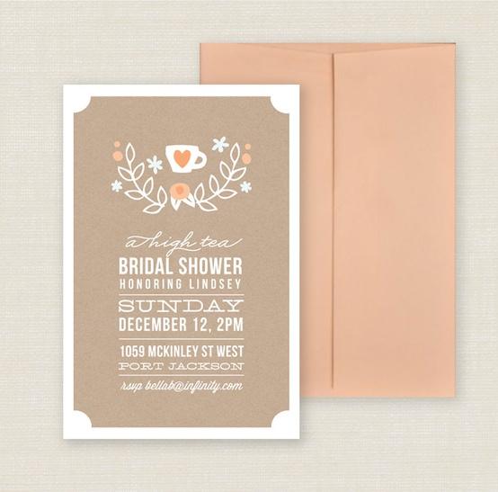 Tea Party Bridal Shower Inspiration Ultimate Bridesmaid – Wedding Shower Tea Party Invitations