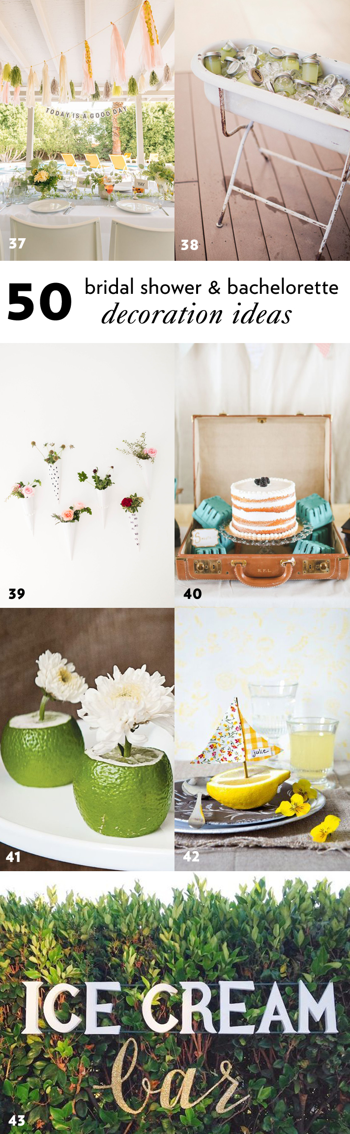 50 Simple And Stylish Diy Bridal Shower Bachelorette