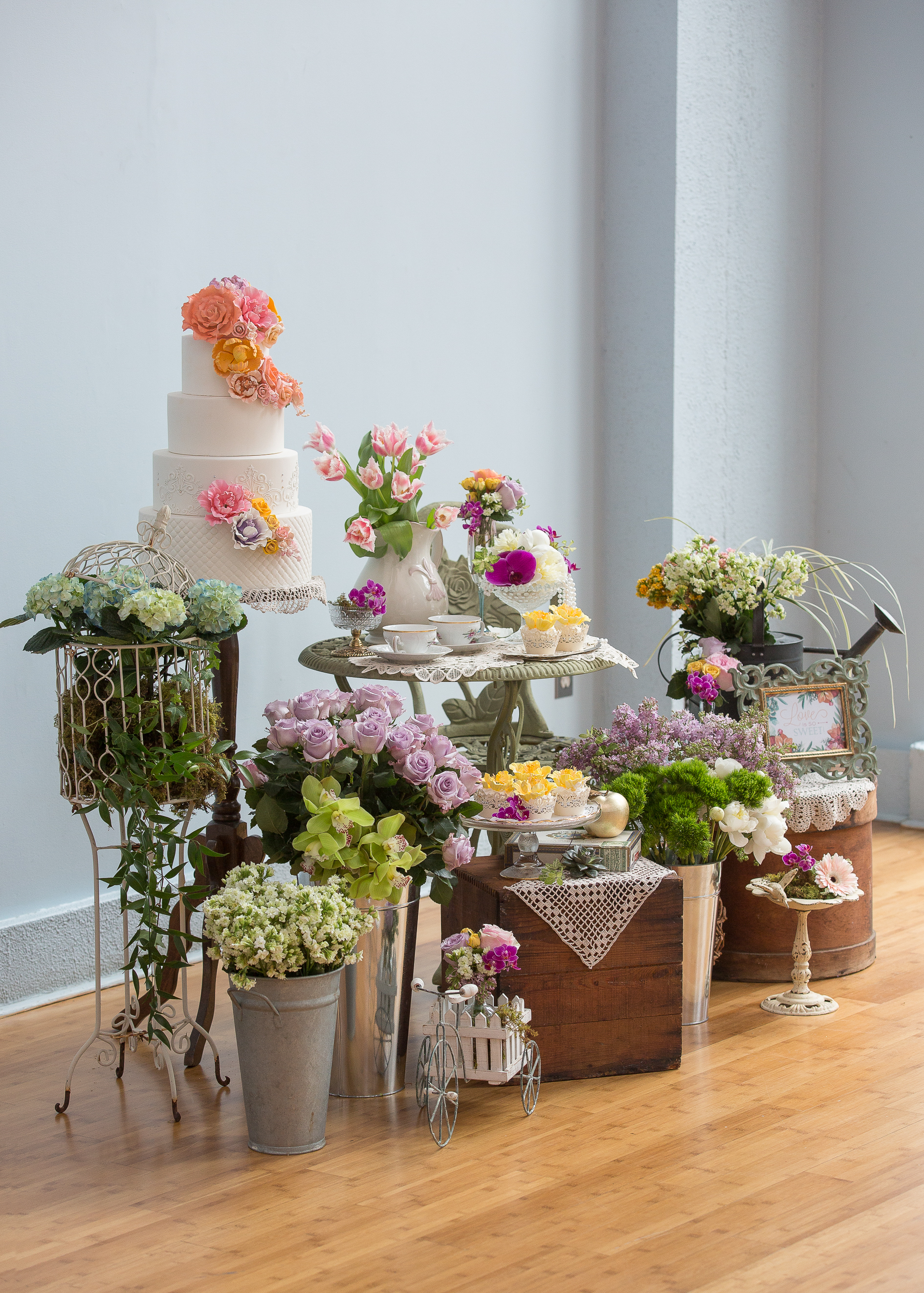 A French Country Tea Party Shower Ultimate Bridesmaid