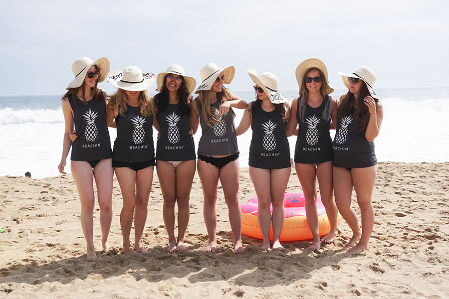 A Tropical Beach Bachelorette Party Ultimate Bridesmaid